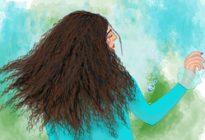 نقاشی دیجیتال دختر سپید