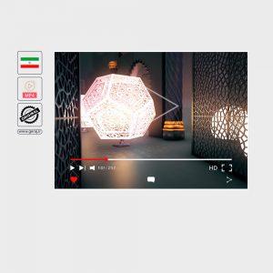 فوتیج بک گراند (زمینه) ماه رمضان